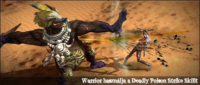 Class bemutató - Warrior (4/4)
